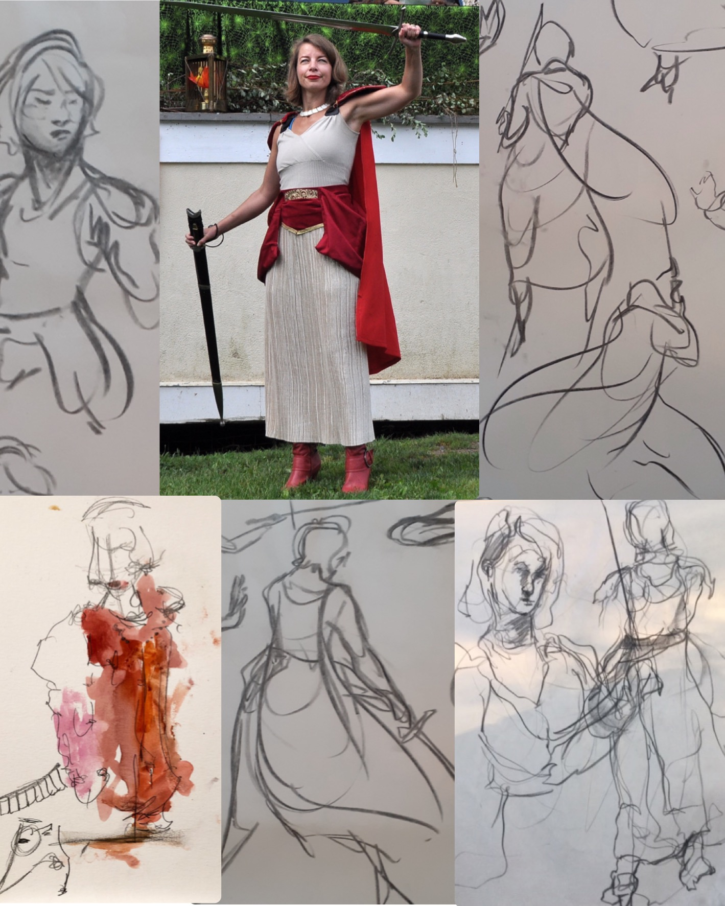 Life drawing_Cleric