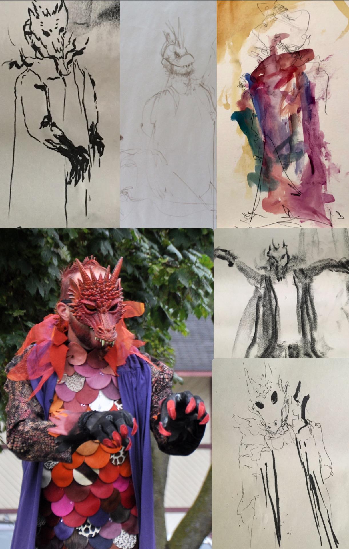 Life drawing_Dragon