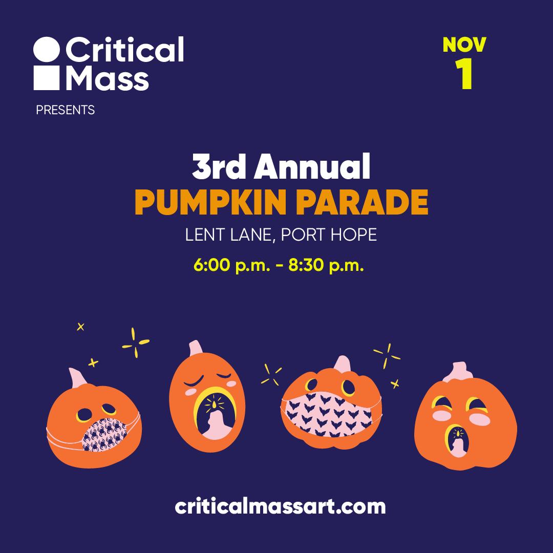 3rd Annual Pumpkin Parade